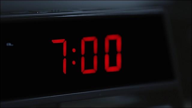 C'est la rentrée. À quelle heure mettez-vous votre réveil ?
