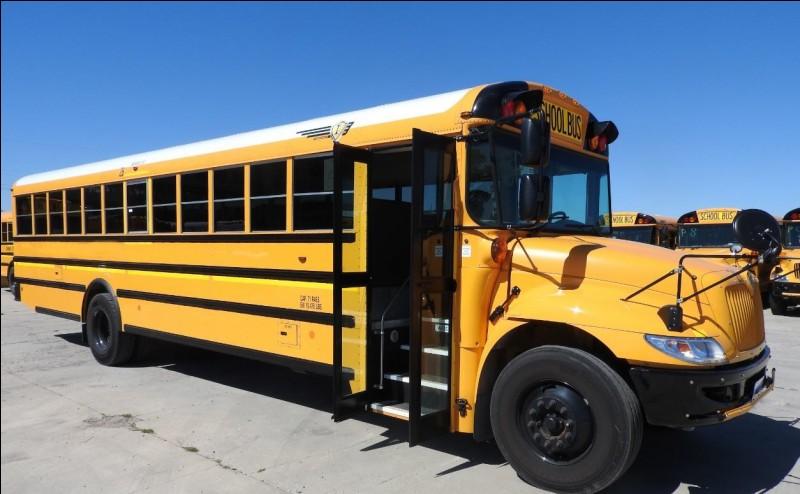 """Pour aller à l'école, vous prenez peut-être le bus scolaire. Quel mot ne signifie pas """"bus"""" ?"""