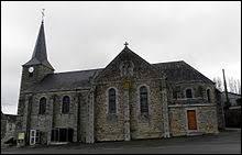 Vous avez sur cette image l'église Saint-Pierre de Hardanges. Village Marnais, il se situe dans l'ancienne région ...