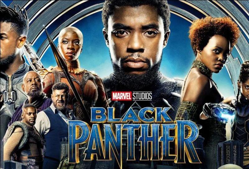 À l'intérieur de quel pays fictif une civilisation prospère-t-elle dans le film « Black Panther » ?