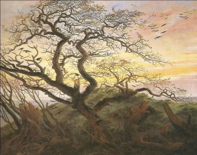 """Qui a peint """" L'Arbre aux corbeaux"""" ?"""