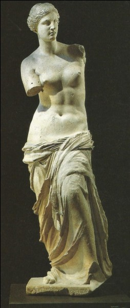 En quelle année a été découverte cette statue ?