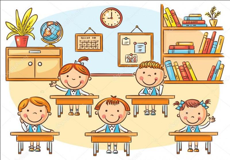 Dans cette classe, il y a [...] d'élèves.