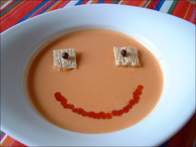 ''Mange ta soupe ! Tu n'en as qu'un [...] !'' dit maman.