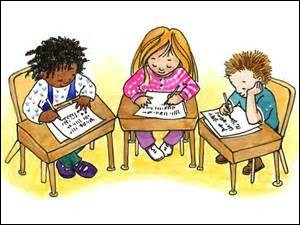 Les enfants, ce n'est [...] faisant vos devoirs que vous progresserez.