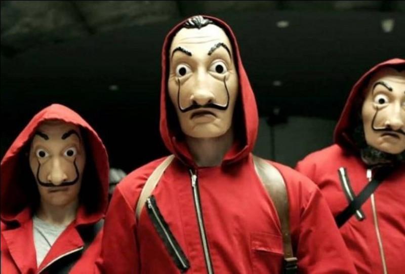 Les personnages de la série «La Casa de Papel» utilisent un masque original, il s'agit du :