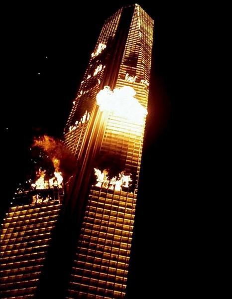Cette tour infernale, tirée du film éponyme, était censée se situer à :