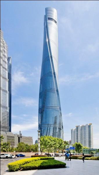 Cette tour futuriste peut se voir à :