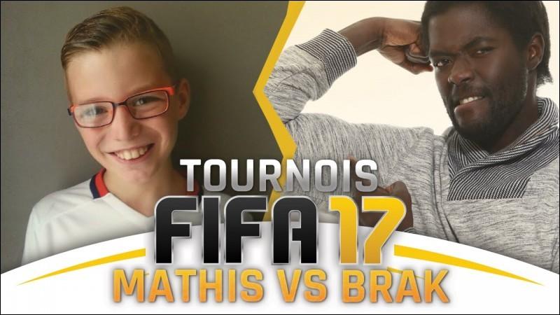 """Jouant principalement à """"FIFA"""", Brak est également commentateur de la compétition e-sportive :"""
