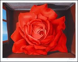 """Qui a peint cette fleur """"Le tombeau des lutteurs"""" ?"""