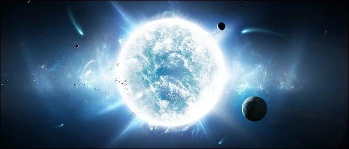 Une planète n'émet pas de lumière.