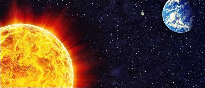 La Terre tourne autour du Soleil en 24 heures.