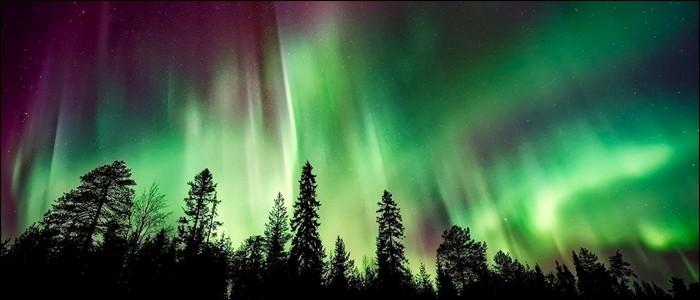 C'est le Soleil qui est responsable des aurores boréales.