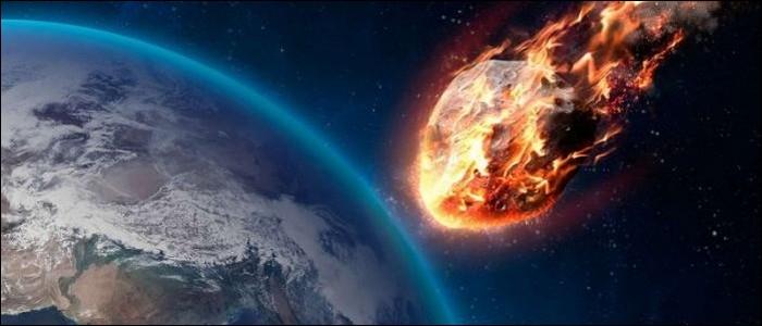 Des météorites percutent la Terre régulièrement.