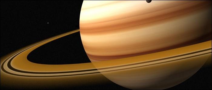 Saturne a des anneaux.