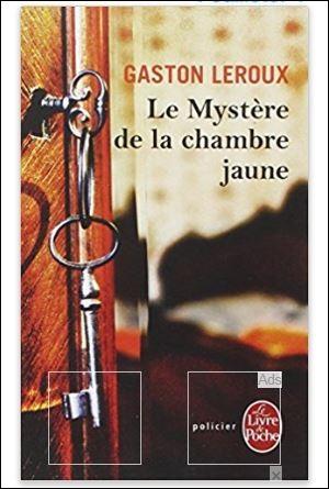 En 1908, le succès commence à poindre. Gaston Leroux met en scène Joseph Rouletabille, jeune apprenti reporter hors du commun. Dans lequel de ces deux romans à succès, apparaît-il pour la toute première fois ?