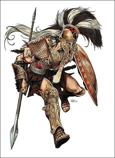 Mars est le dieu grec de la guerre.