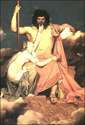 Jupiter est le nom romain de Zeus.