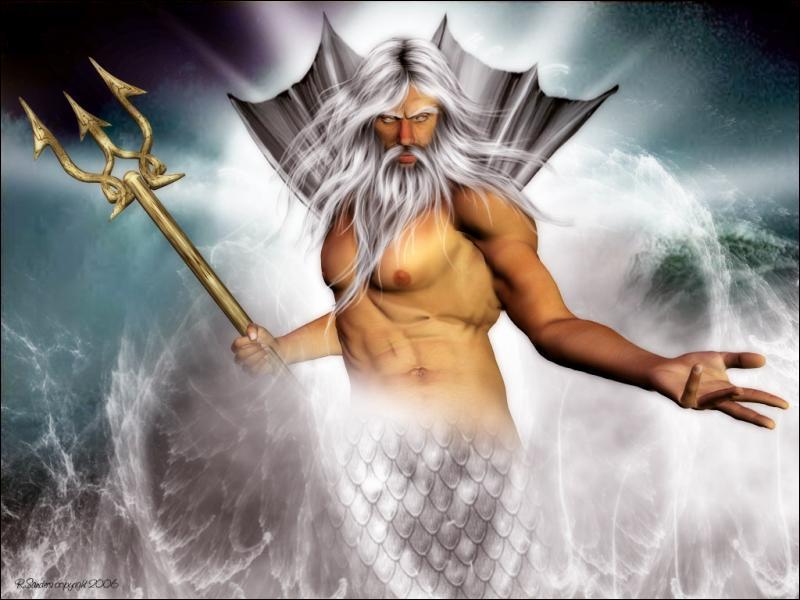 Les Romains ont rebaptisé Poséidon, le dieu grec des mers, Neptune.