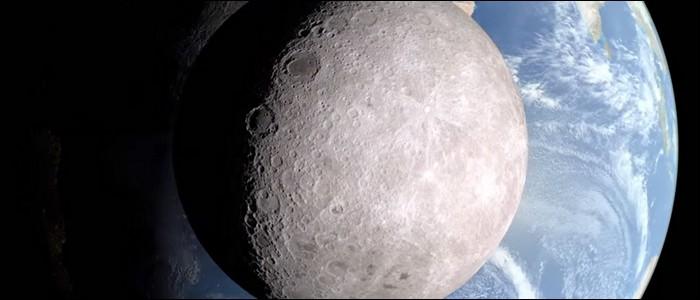 Il y a une partie de la Lune que les habitants de la Terre ne voient jamais.
