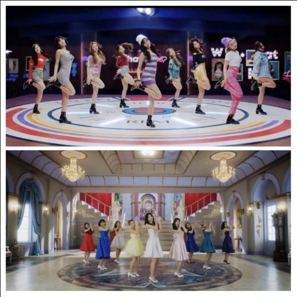 De quel MV des Twice viennent ces deux photos ?