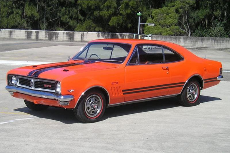 Partons en Australie, cette voiture porte le nom d'une région de la Nouvelle-Galles du Sud. Comment se nomme-t-elle ?