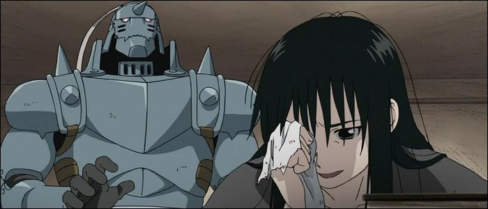 Quel membre de son corps Ran Fan a-t-elle perdu pour protéger Ling ?