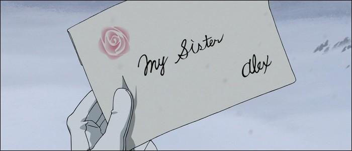 Que fait Olivier Mira Armstrong de la lettre de recommandation écrite par son frère et que lui apportent les frères Elric ?