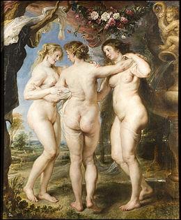 """A quel peintre flamand doit-on cette oeuvre intitulée """"Les Trois Grâces"""" ?"""