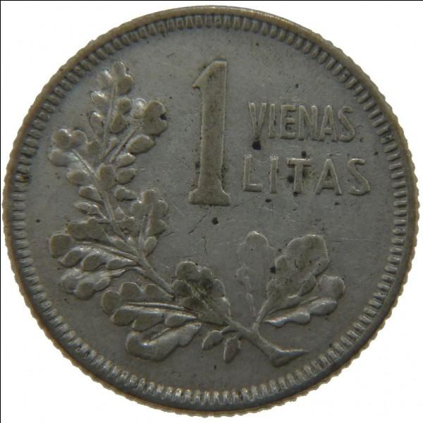 Quelle grande écrivaine figurait sur les billets de 1 litas, l'ancienne monnaie du pays ?