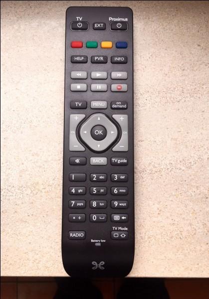 Quel objet utilise-t-on pour changer de chaînes de télévision sans se lever ?