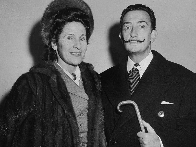 Gala et Salvador Dali furent mariés.