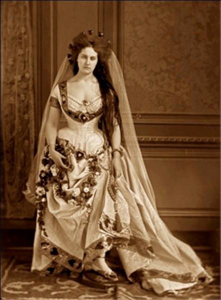 La comtesse de Castiglione était l'épouse secrète de Napoléon III.