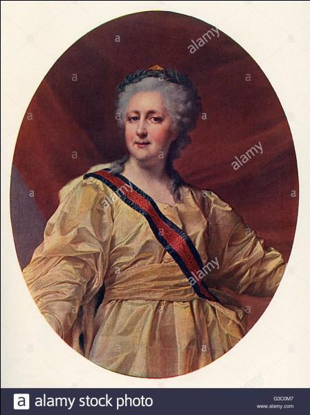 """Catherine II de Russie, dite """"la Grande Catherine"""", dépensera pour ses amants l'équivalent d'un an et demi du budget de l'empire."""