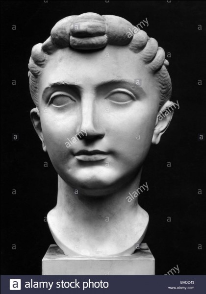 Julia, fille de l'empereur Auguste, eut trois maris.