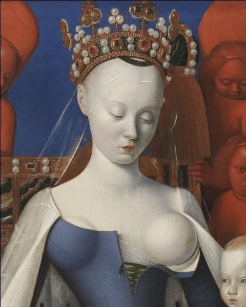 """Agnès Sorel, la """"Dame de Beauté"""", a inauguré la longue tradition des favorites officielles, avec le roi Charles VII."""