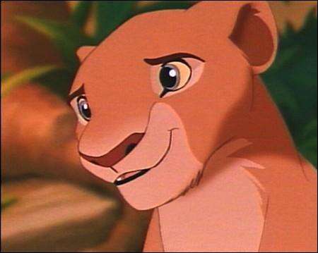 Allez, pour changer un peu, la chérie de Simba le Roi Lion , c'est ...