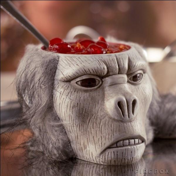 Dans quelle aventure, Indiana Jones doit-il manger de la cervelle de singe ?