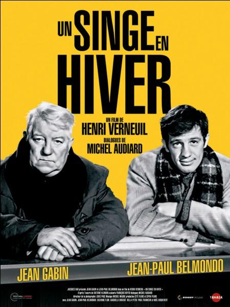 """Le roman d'Antoine Blondin """"Un singe en hiver"""" dont un film fut adapté et réalisé par Henri Verneuil en 1962 avec Jean Gabin et Jean-Paul Belmondo, a gagné un prix littéraire en 1959. Lequel ?"""