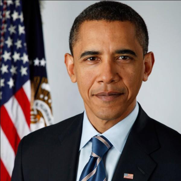 Début mai 2018, quel candidat à la présidence de la République a reçu le soutien de Barack Obama ?