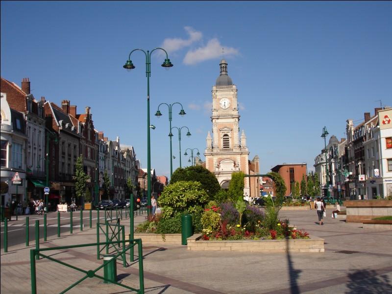 Le nombre d'habitants à Lille en 2015 par rapport à celui de Lyon :