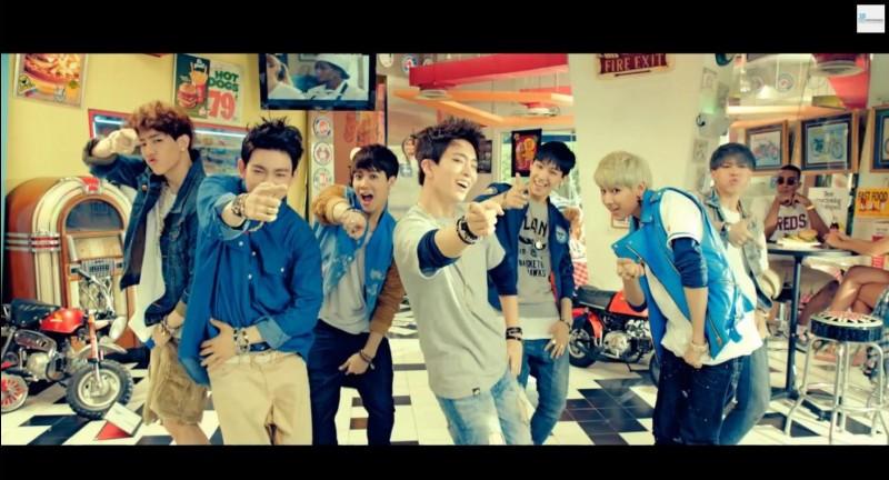 Quel membre des TWICE voit-on dans le MV « A » des GOT7 ?