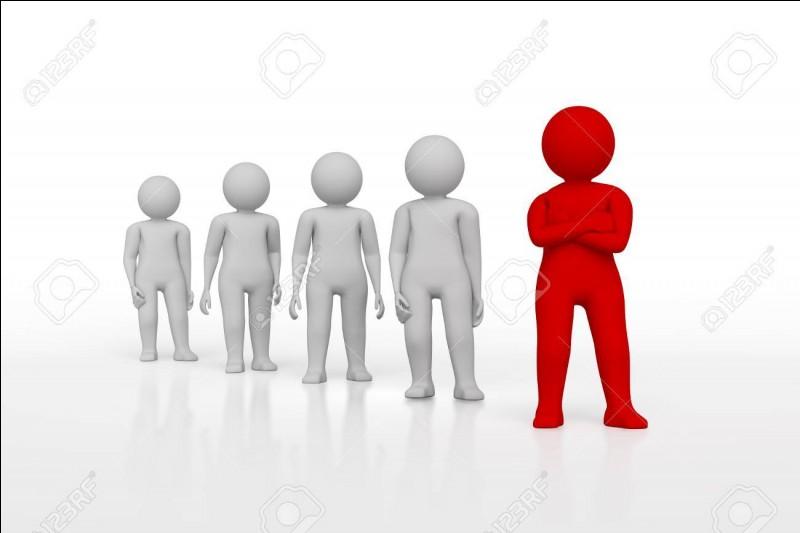 Qui est le leader du groupe ?