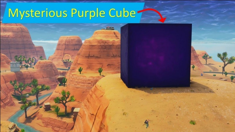 Quand le cube est-il apparu ?