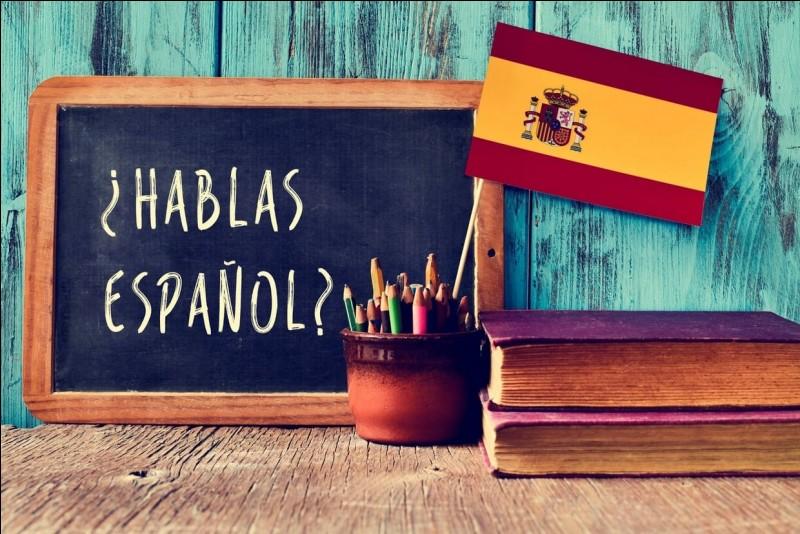 En espagnol, cette proposition verbale se traduira par...