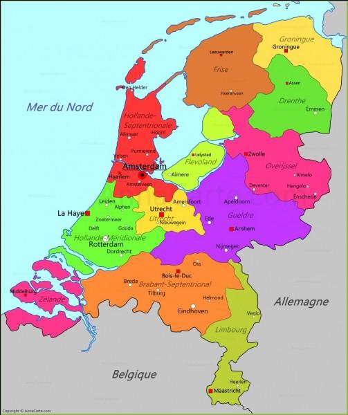 En néerlandais, cette même phrase se traduira par :