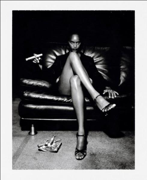 Cette photo est due à Helmut Newton.