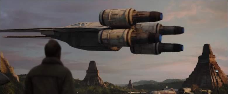 """Quel vaisseau rebelle fait sa première apparition dans un film """"Star Wars"""" ?"""