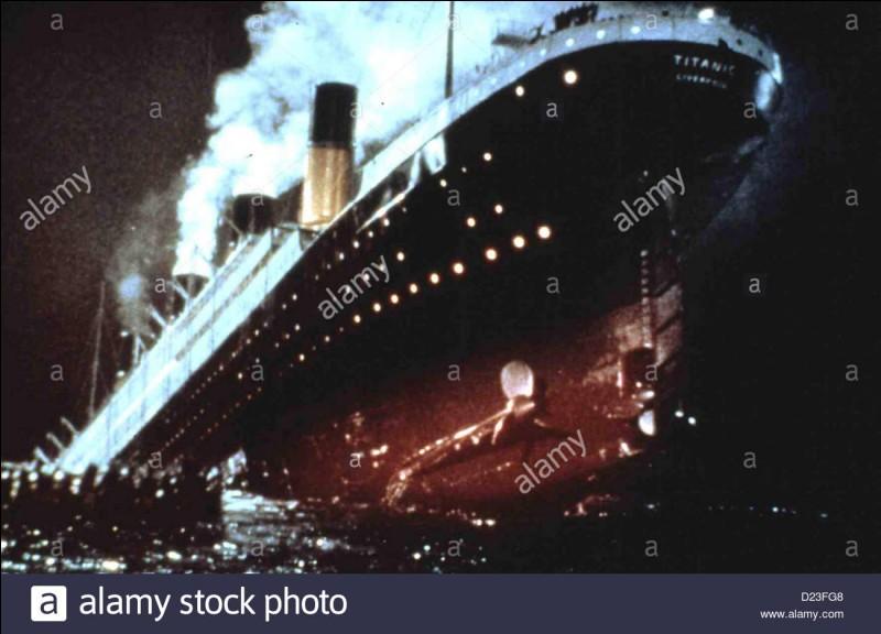 """On peut voir cette scène dans """"Titanic""""."""