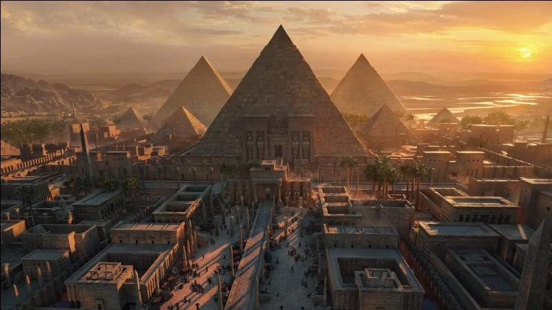 Dans quel jeu l'histoire se déroule-t-elle en Égypte ?